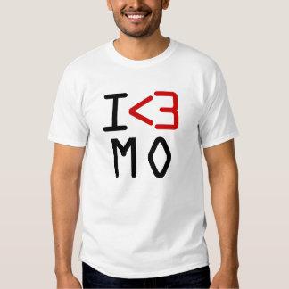 I <3 MO T SHIRT