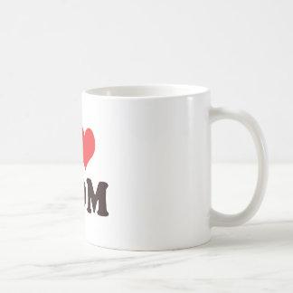 I <3 Mom Classic White Coffee Mug