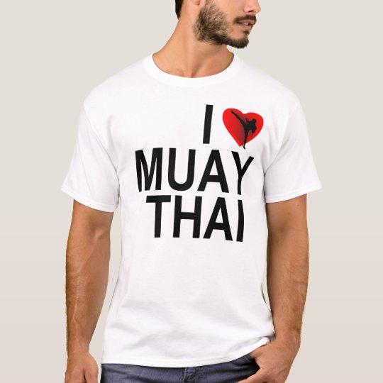 I <3 Muay Thai T-Shirt
