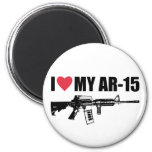 I <3 My AR-15 2 Inch Round Magnet