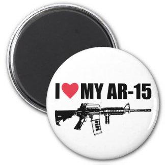 I <3 My AR-15 Magnet