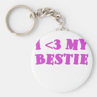 I <3 my Bestie Keychains