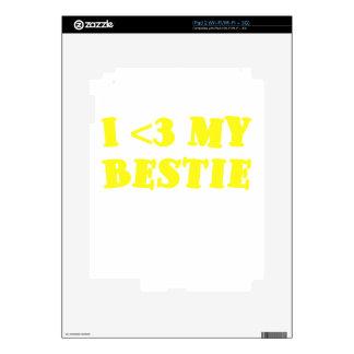 I 3 my Bestie Skins For iPad 2