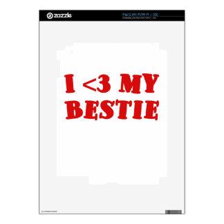 I 3 my Bestie iPad 2 Skins