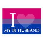 I <3 My Bi Husband Postcard