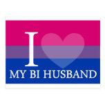 I <3 My Bi Husband Postcards