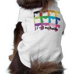 I <3 my Papillon tee Dog Shirt