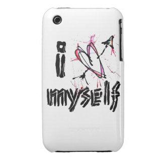 i <3 myself iphone 3/3gs case
