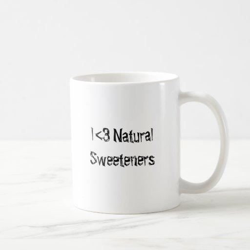 I <3 Natural Sweeteners Classic White Coffee Mug