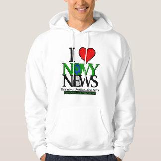 I <3 Novy News Hooded Sweatshirt