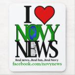 I <3 Novy News Mouse Pad