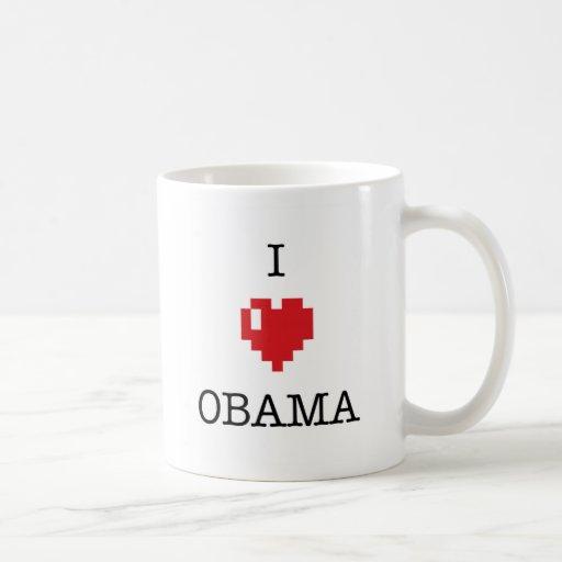 I <3 Obama mug