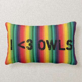 I <3 Owls Pillows