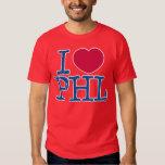 I <3 PHL Shirt (Red/Blue) Red Shirt