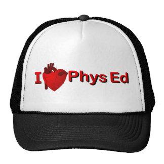 I <3 Phys Ed Gorros