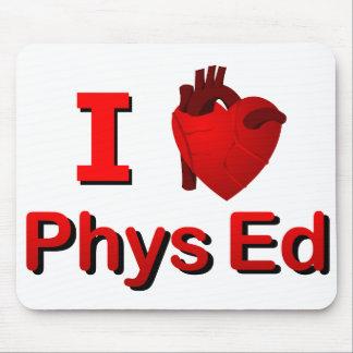 I <3 Phys Ed Mouse Pad