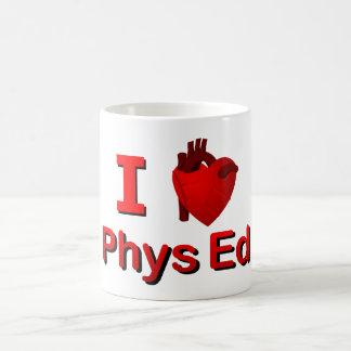I <3 Phys Ed Taza