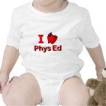 I <3 Phys Ed Trajes De Bebé