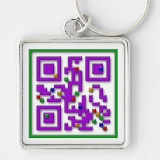 I <3 Pixels, I Heart Pixels Keychain