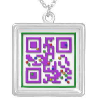 I <3 Pixels, I Heart Pixels Necklace