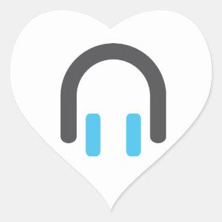 I 3 plug dj heart stickers