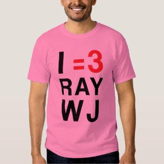 I =3 RayWJ Playeras