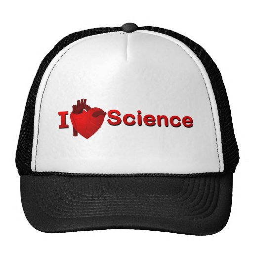 I <3 Science Mesh Hat