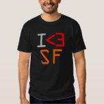 I <3 SF TEE SHIRT