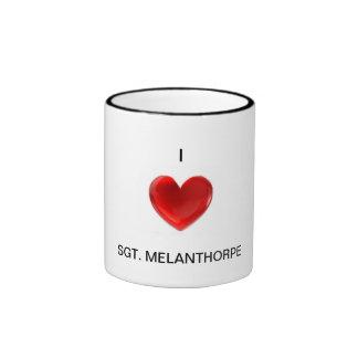 I <3 SGT. Melanthorpe coffee mug
