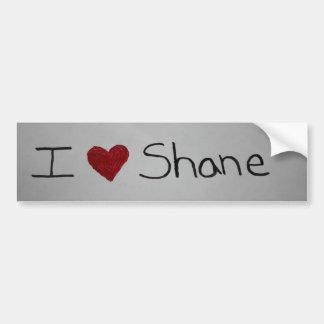 I <3 Shane Pegatina Para Auto