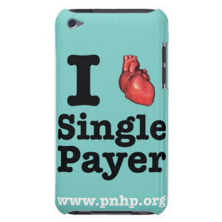 I <3 Single Payer ipod case Barely There iPod Covers