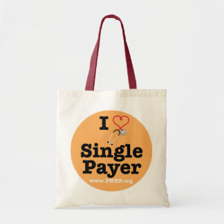 I <3 Single Payer Tote