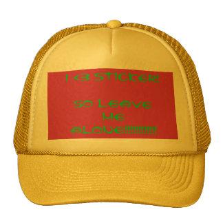 I <3 skateboard company called Sticker Trucker Hat