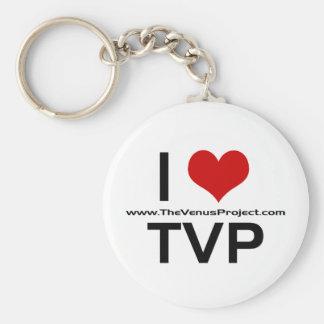 I <3 TVP LLAVERO REDONDO TIPO PIN