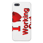 I <3 Working Out iPhone 5 Case