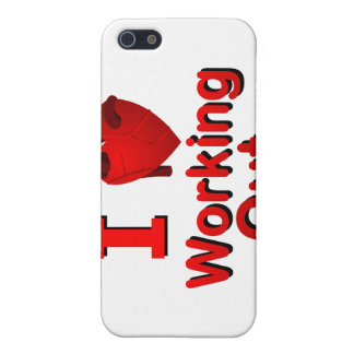 I 3 Working Out iPhone 5 Case