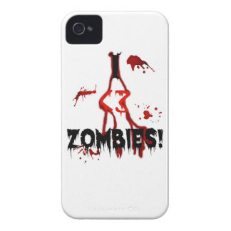 I <3 Zombies! - iPhone 4/4S Case