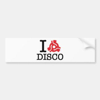 I 45 Adapter Disco Bumper Sticker