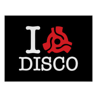 I 45 Adapter Disco Poster