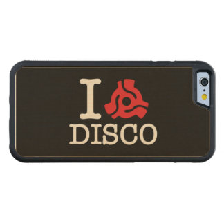 I 45 Adapter Disco Carved® Maple iPhone 6 Bumper Case