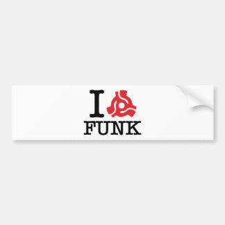 I 45 Adapter Funk Bumper Sticker