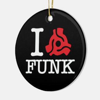 I 45 Adapter Funk Ceramic Ornament