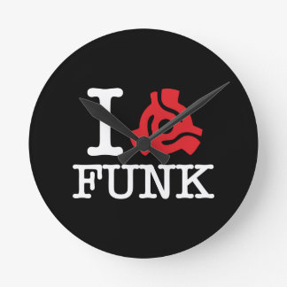 I 45 Adapter Funk Round Wall Clock