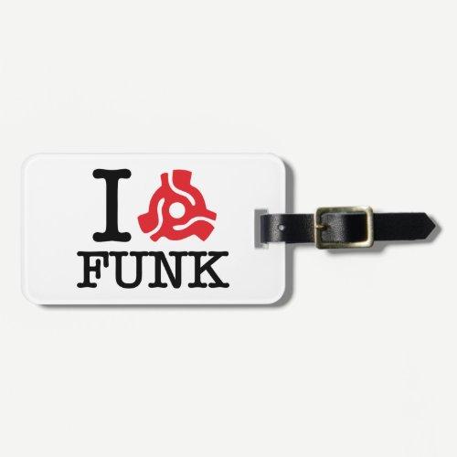 I 45 Adapter Funk Luggage Tag