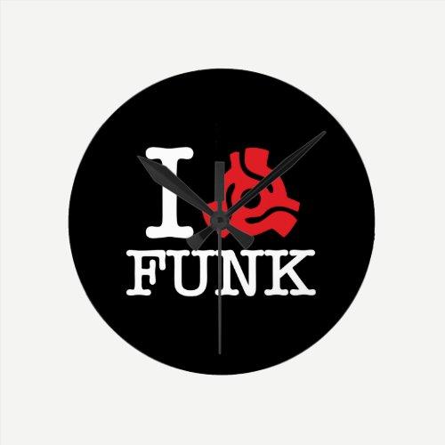 I 45 Adapter Funk Round Clock