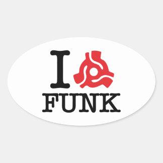 I 45 Adapter Funk Stickers