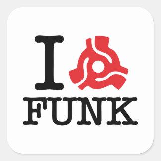 I 45 Adapter Funk Square Sticker