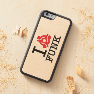 I 45 Adapter Funk Carved® Maple iPhone 6 Bumper Case