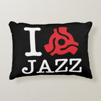 I 45 Adapter Jazz Accent Pillow