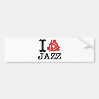 I 45 Adapter Jazz Bumper Sticker